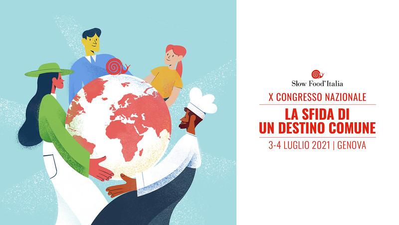 X Congresso Slow Food Italia, Genova 2021