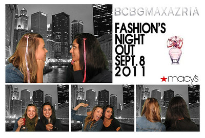 BCBGMAXAZRIA Fashion's Night Out Macy's on State St. September 8, 2011