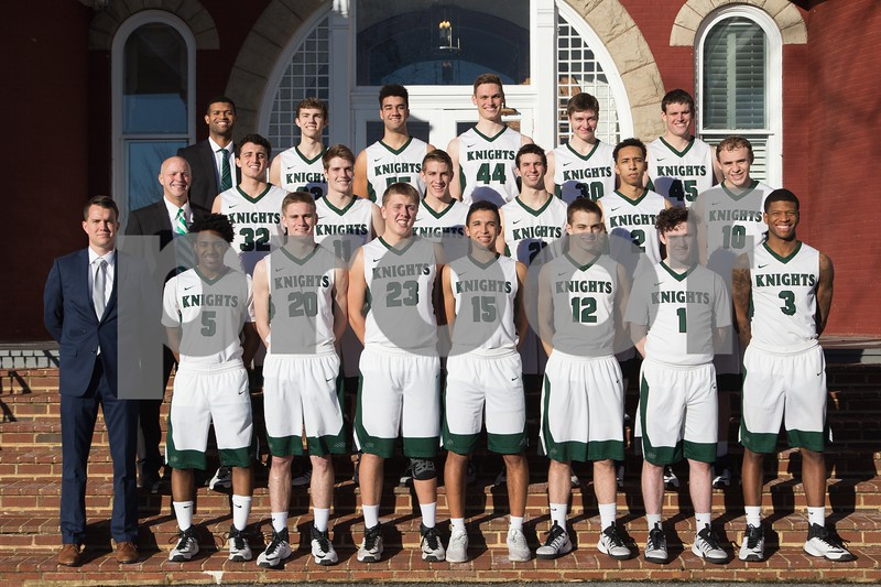 Men's Basketball Team Photo: 2016-2017