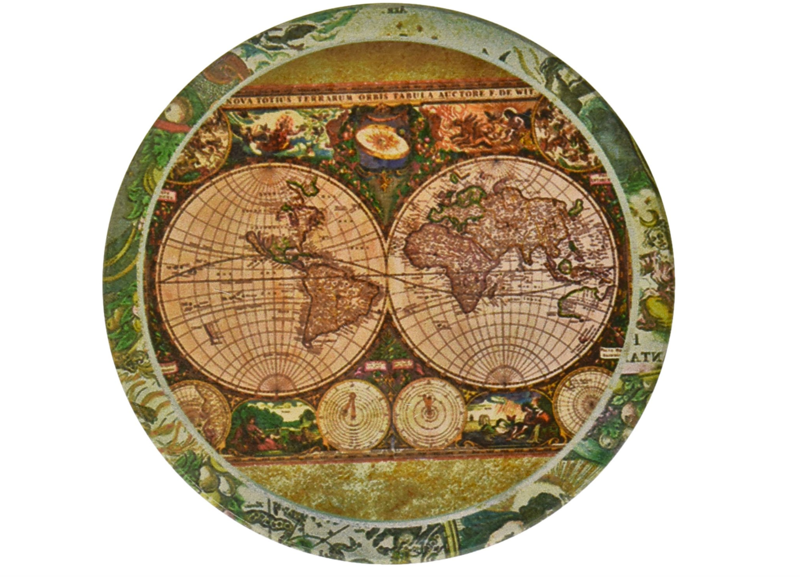 best gift for travelers world map coasters.png