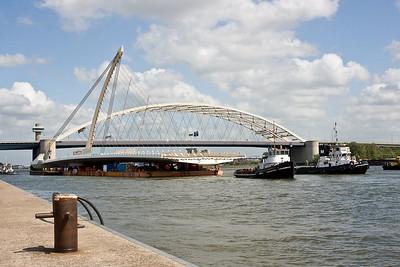 Hollandia brug transport
