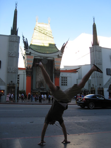 Andres Calderon - Chinese Theatre - Hollywood, California