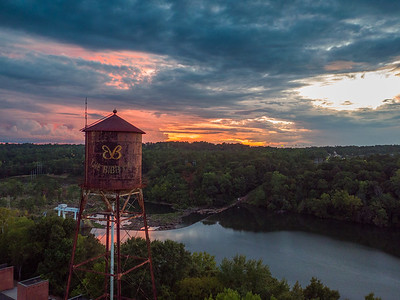 River Mill Sunset Sept 2016