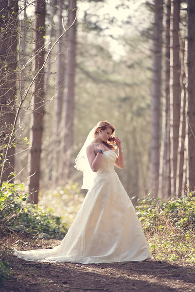 Danielle Woods wedding dress