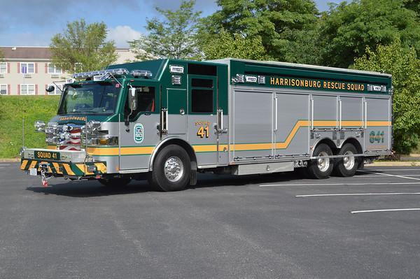 """Harrisonburg Rescue Squad - """"Rescue 40"""""""