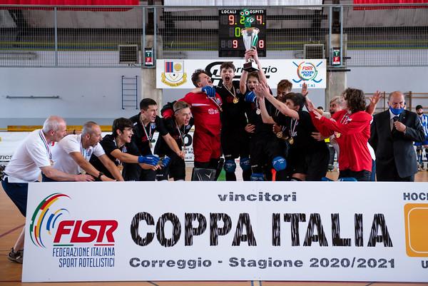 Finale 1°/2° posto: HC Valdagno vs HC Castiglione