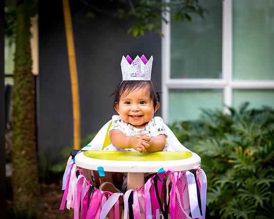 Mali's First Birthday