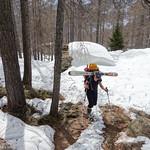 Roccia Nera ski tour, Aosta valley 2014-04-06
