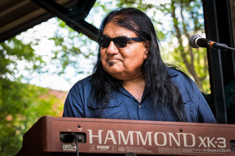 Sammy Avila-Walter Trout Band-Lowertown Blues Festival 2015-Mears Park-St. Paul MN