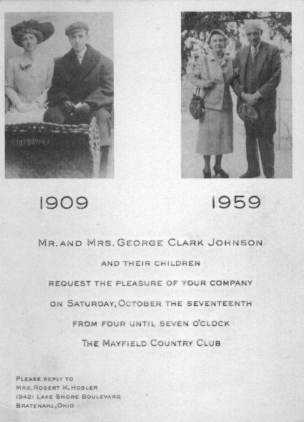 George Clark Johnson and Helen Hill Burgess Johnson
