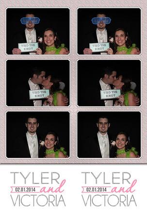 2014-02-01 Tyler & Victoria's Wedding