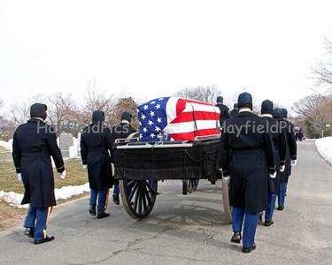 LTC Joe Spicer - Arlington National Cemetery 2/4/11