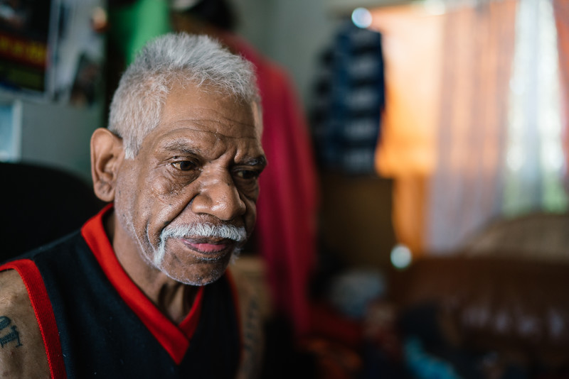 Wurundjeri Elder on his Own
