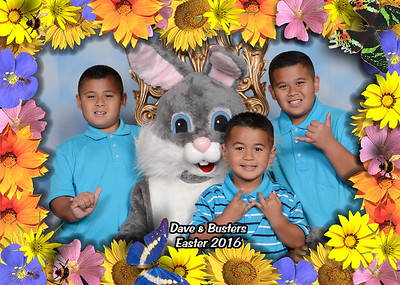 Dave & Busters Breakfast with the Easter Bunny
