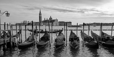 Venice Black white & colors