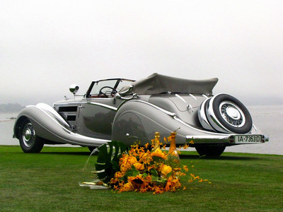 Pebble Beach Concours Awards Ceremony