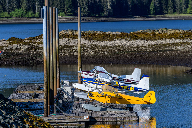 Seaplanes, Thorne Bay, Alaska