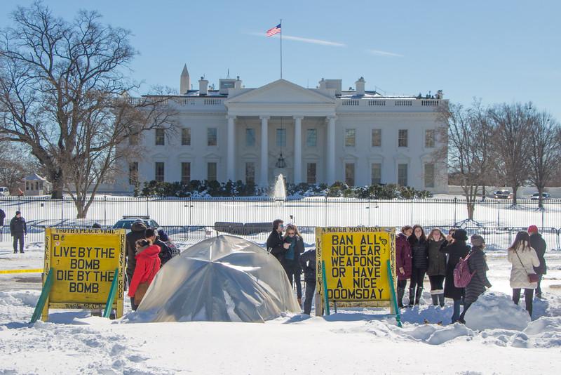 Jan. 24th - Lafayette Park/White House