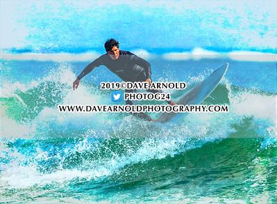 9/21/2019 - Surfing - Gooch's Beach, Kennebunk, Maine