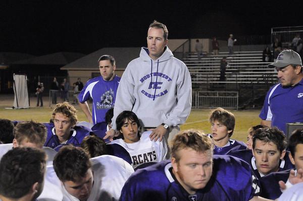 2008 NCS Football Playoff Game vs Ray - Nov 11th, 2008