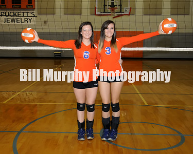 2013 Marshall County Volleyball Buddie And Senior Shots, August 16, 2013.