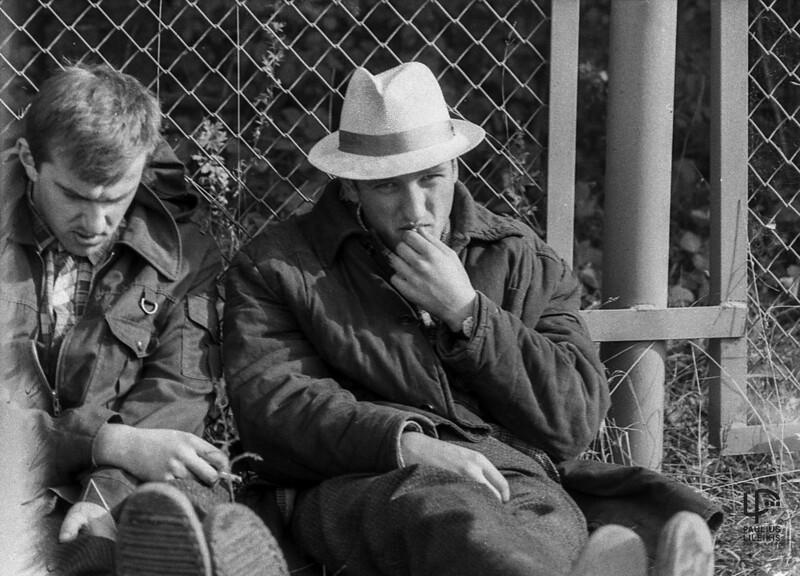 Gintaras Kudaba ir Vilius Šimkus 1987m.