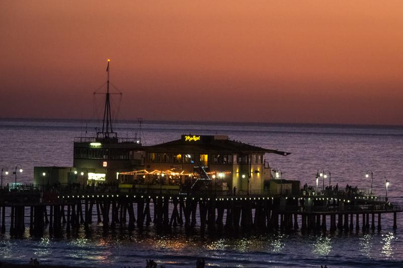 December 1 - Sunset oveer the Santa Monica pier.jpg