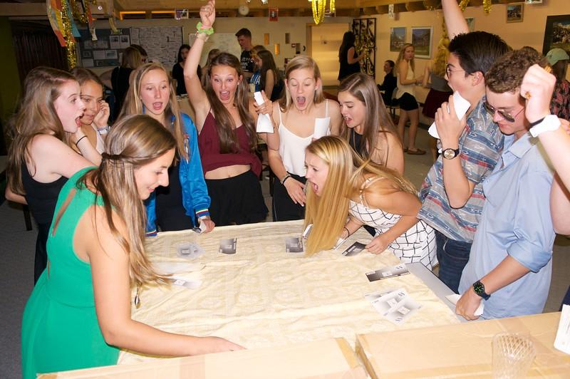 Casino Night—success at the craps table