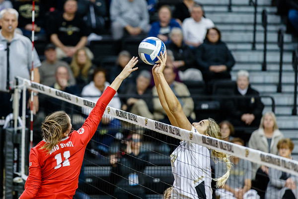 Purdue Volleyball vs Ohio State 2018-10-21