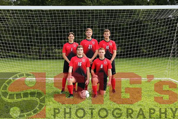 08-12-18 Boys Soccer Team & Individual Photos