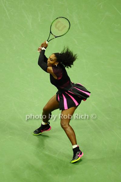 US OPEN Tennis 2016 - Serena Williams defeats  Simona Halep  at Arthur Ashe Stadium in Queens, NY on 9-7-16.