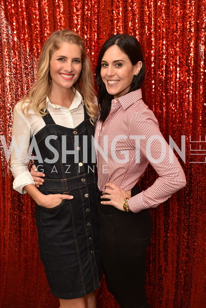 Ashley Bronczek, Candace Ourisman, Young Patrons at the National Theatre, The Waitress, June 3, 2018 -9097.JPG
