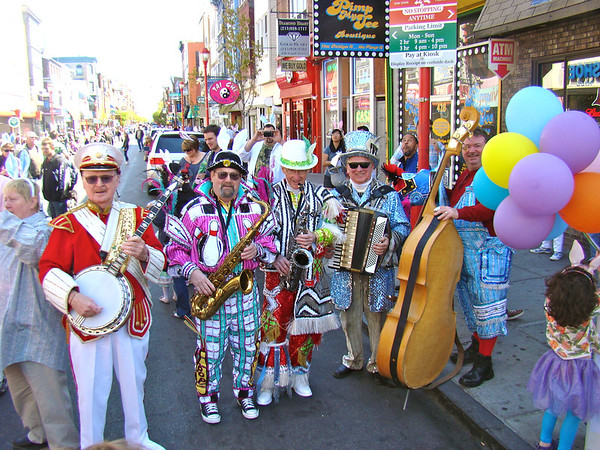 South Street Easter Day Parade 2012