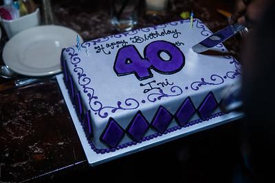Ini's  40th Birthday