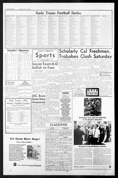Daily Trojan, Vol. 57, No. 34, November 04, 1965