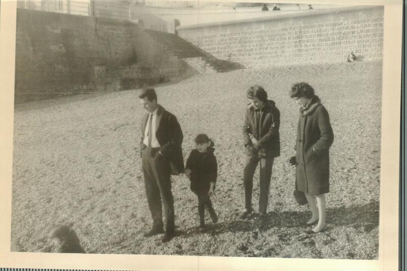 Albert, Jean, Norma and Sheila at Black Rock