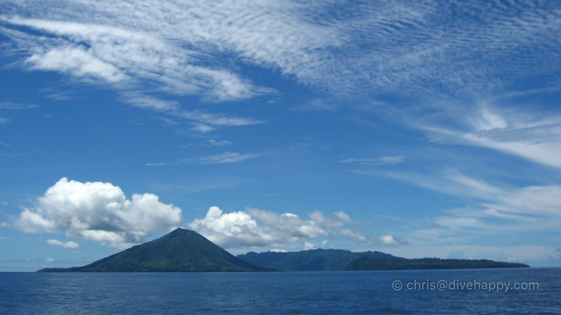 The Banda Islands Above Water © Chris Mitchell