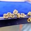 .78-.82ctw Asscher Stud Earrings, in Yellow Gold 0