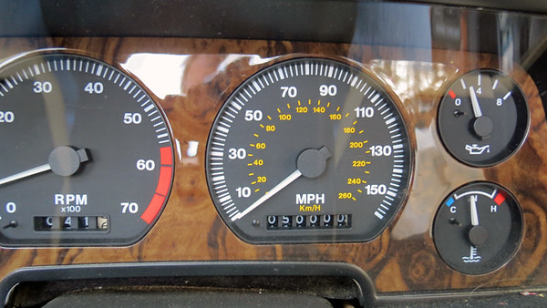 March 17, 2019:  The XJS turns 50k miles .  .  .
