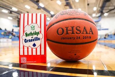 2019 VARSITY - Northridge at Granville (01-24-19)