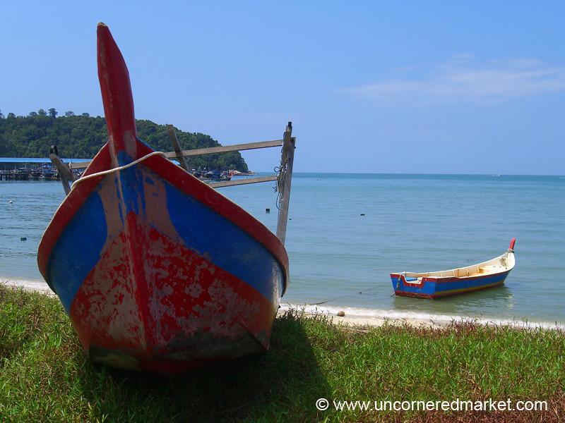 Boat - Penang, Malaysia