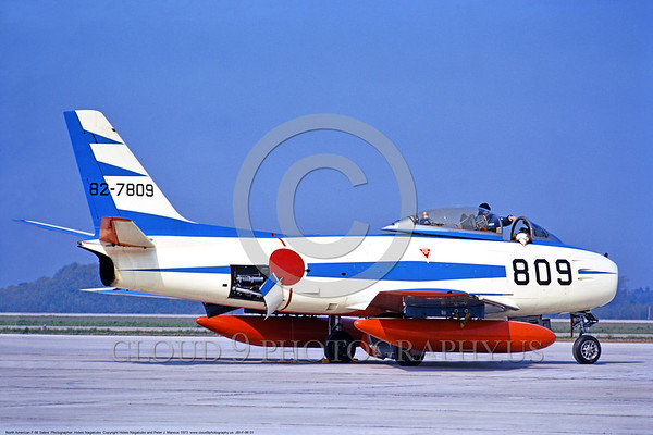 JAPANESE BLUE IMPULSE F-86 Sabre: The Japanese Self Defense Force Blue Impulse Aerobatic Team F-86 Sabre Pictures