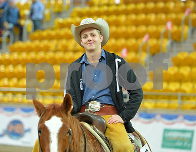 2016  AQHA YOUTH WORLD CUP CUTTING 2ND HERD