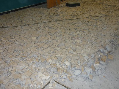 vernieuwing polyvalente zaal
