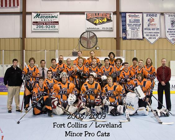 2008/2009 Minor Pro Team