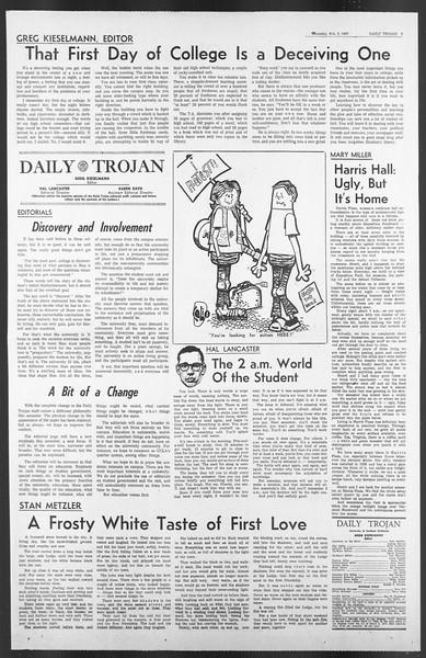 Daily Trojan, Vol. 58, No. 64, February 02, 1967