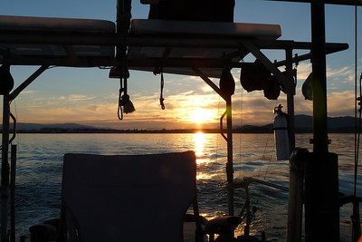 DAY 155 - June 4, 2011 - Sunset Cruise On Our Fishing Boat Cynthia Meyer, Sidney, Vancouver Island, British Columbia, Canada