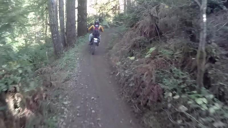 Mike's First Tahuya Ride
