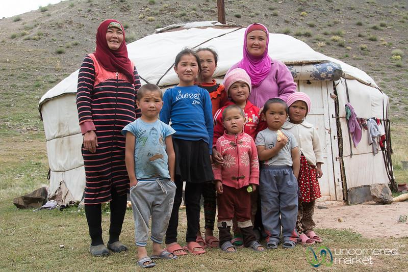 Kyrgyz Family Alay Mountains - Kyrgyzstan