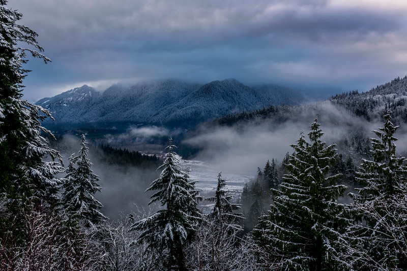 The Elwha Valley from Hwy 101 near Port Angeles, WA